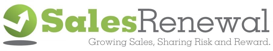 Sales Renewal logo is a visual component of our brand.